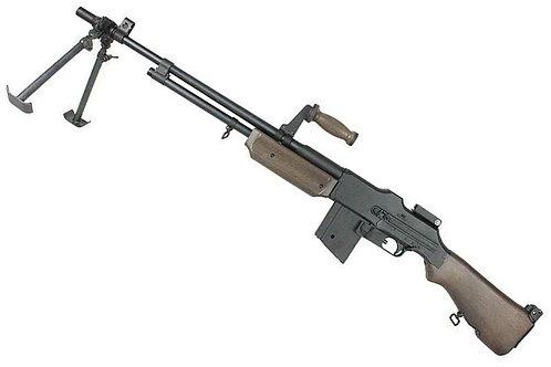 Upgraded S&T M1918 BAR Airsoft LMG (Real Wood)