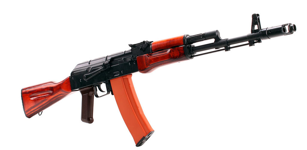 GHK Full Metal GK74 AK74 Airsoft GBB Rifle