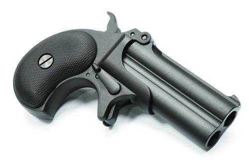 MAXTACT Derringer 6mm Airsoft Pistol (Black)
