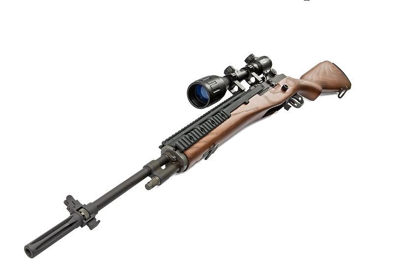 Custom WE M14 GBB RAS Airsoft Rifle (Silo Spec)