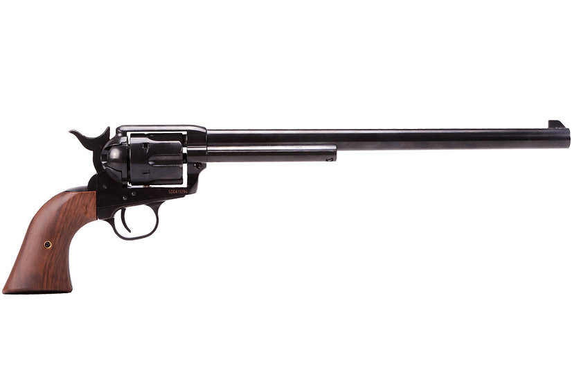 King Arms SAA .45 Airsoft Gas Revolver Extra-Long Barrel