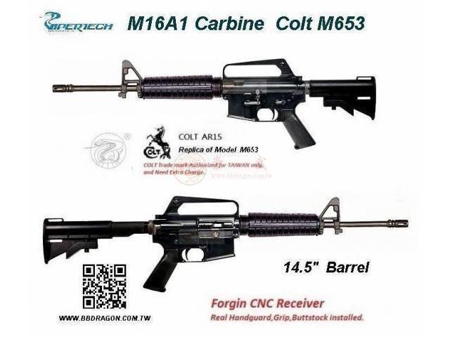 Viper-Tech M16A1 Carbine M653 Airsoft GBB Rifle