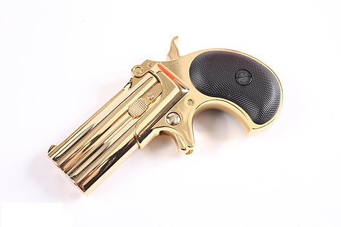 HFC Derringer 6mm Airsoft Pistol (Gold)