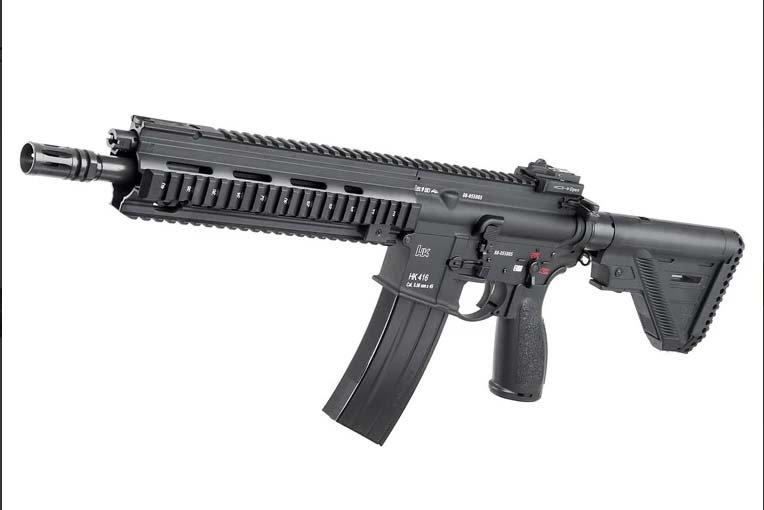 Upgraded Umarex/VFC HK416A5 Gen2 GBBR Airsoft Rifle