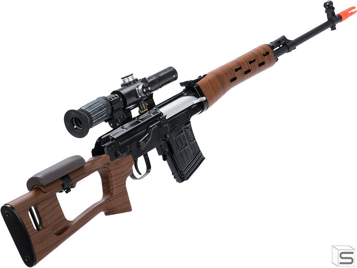 WE SVD Gas Blowback Sniper Rifle ( Steel and imitation wood )