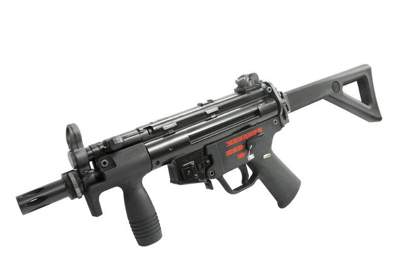 Upgraded WE MP5K PDW Apache GBB SMG