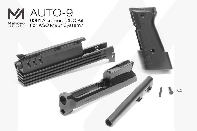 Mafio AUTO-9 Kit for KSC M93R System7