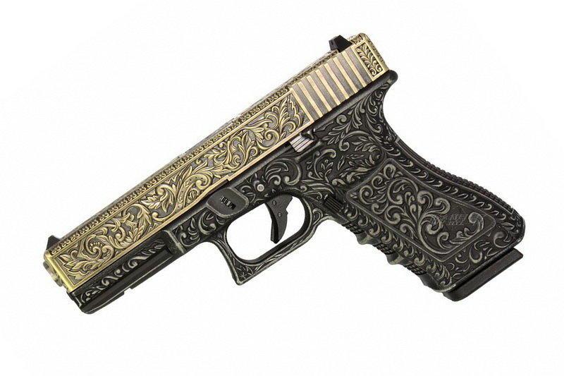WE-Tech G17 Floral GBB Airsoft Pistol