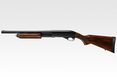 Tokyo Marui M870 Wooden ( imitation ) Stock Airsoft Gas Shotgun
