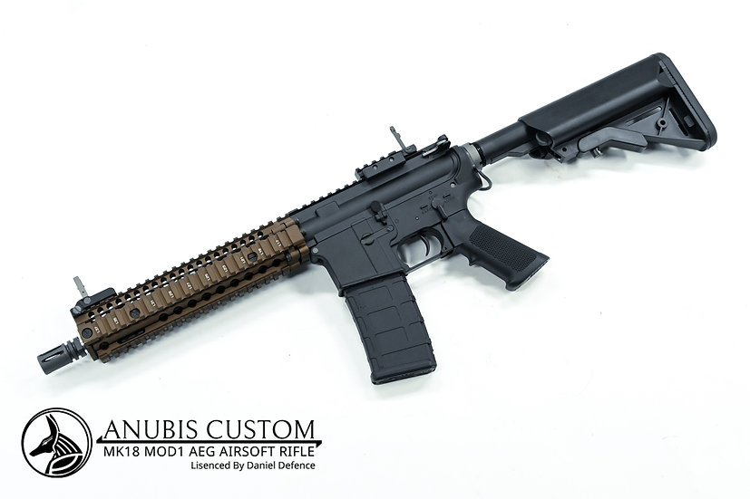 Anubis-Custom MK18 MOD1 AEG Rifle (Daniel Defense licensed)