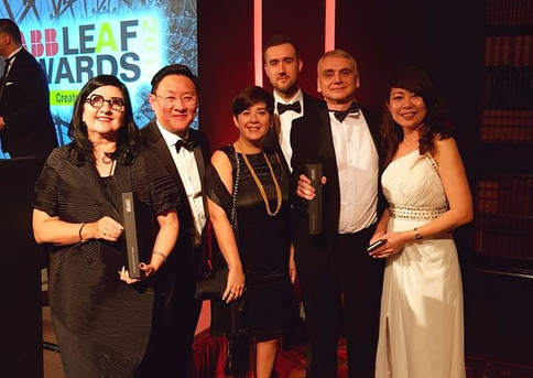 Web Structures Wins at ABB LEAF Awards 2017