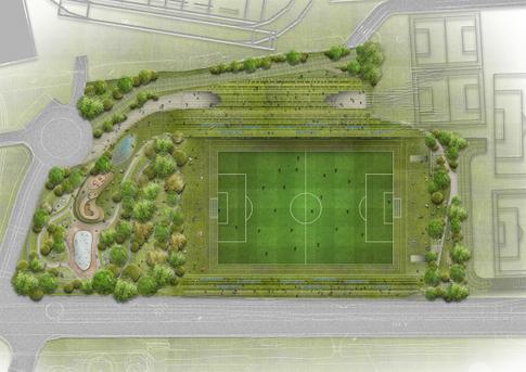 Green Rovers Stadium wins at London Design Awards 2017