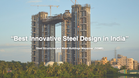 "Atmosphere named ""Best Innovative Steel Design in India"""