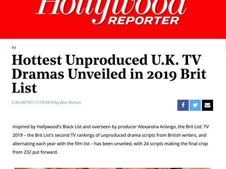 ONLY CHILD Brit List feature in Hollywood Reporter