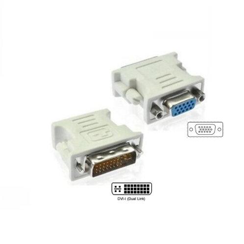 DVI-I (24+5) Male to VGA Female Adaptor