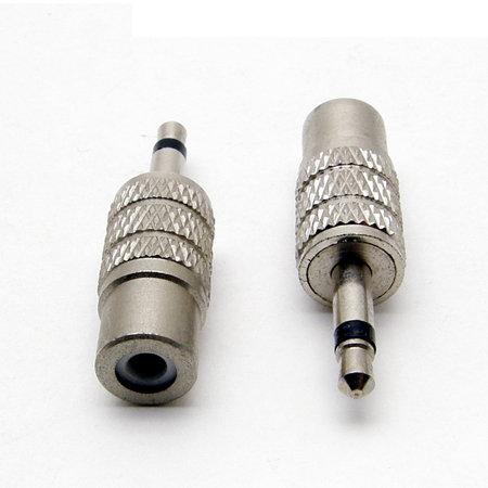 3.5mm Audio Male to RCA Female Adaptor - 1 pack: 1ea