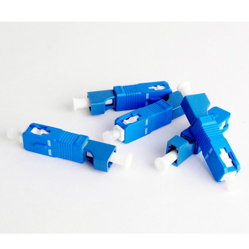 LC Female to SC Male Fibre Optic Singlemode Adaptor - 1 pack: 1ea