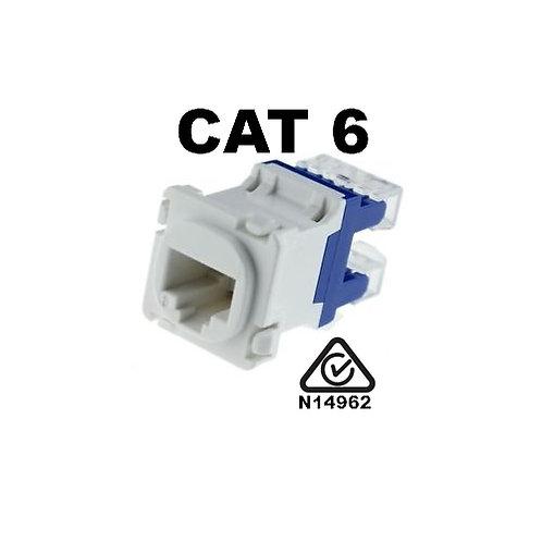 Clipsal Compatible CAT6 RJ45 Mech Insert