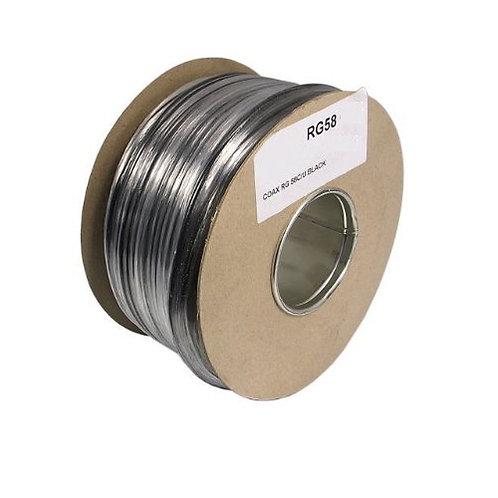 RG58 C/U MIL SPEC 50 ohm per metre - Premium Quality