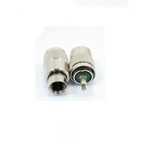 PL259 / M-Type Male Plug for RG213 or RG8 - Premium