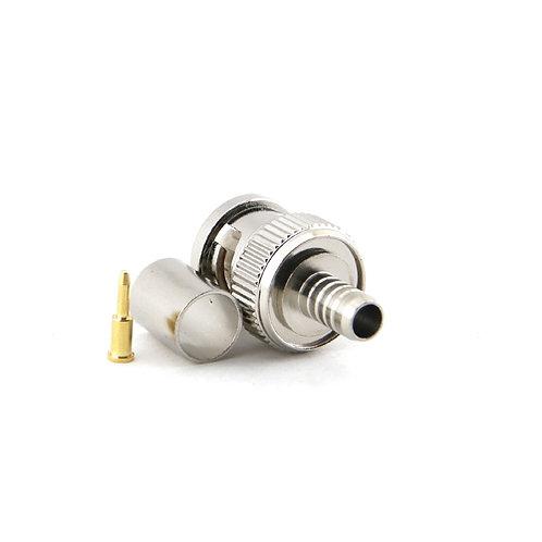 BNC Crimp Plug for RG59 - Premium