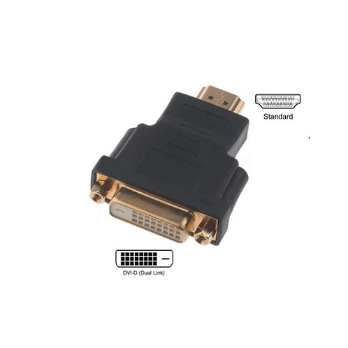 HDMI Male to DVI-D (24+1) Female Adaptor