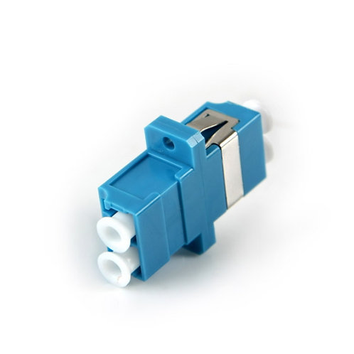 LC Type thru-connector DUPLEX (Coupler) - 1 pack: 1ea