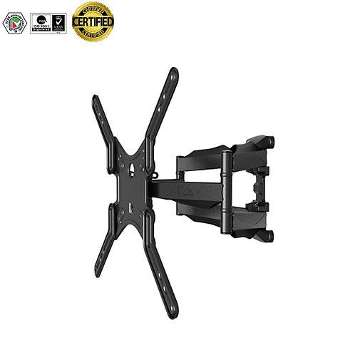 Certified Premium 32-60 inch Tilt Swivel Full-motion Wall Mount Monitor Bracket