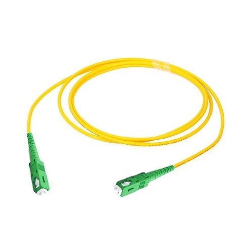 SC/APC-SC/APC Singlemode Fibre Optic Patch Lead (Simplex)