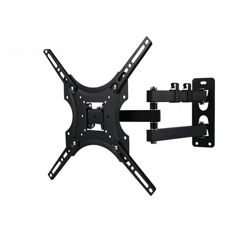 14 - 55 inch Tilt Swivel Wall Mount Monitor Bracket - 400mm
