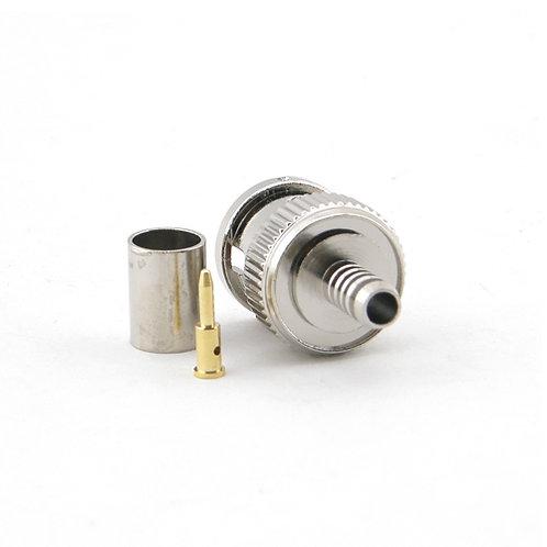 BNC Crimp Plug for RG58 - Premium