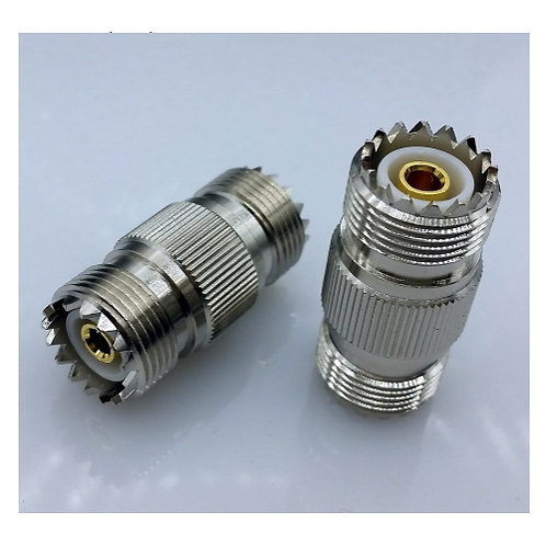 PL259 / M-Type Female to Female coupler - Premium