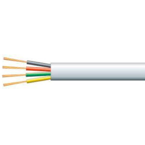 4 Core Stranded Flat Cable - Telephone - per metre