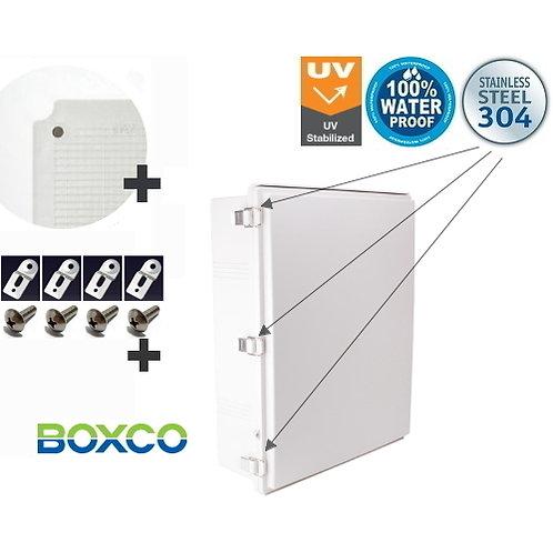 530 x 630 x 185mm HINGED LID Waterproof ABS Electrical Enclosure Junction Box