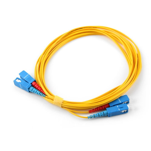 50m SC-SC Singlemode Fibre Optic Patch Lead (Duplex)