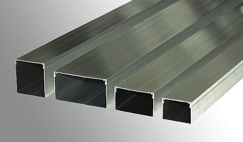 Cable Ducting 50mm x 35mm x 1m  - Aluminium