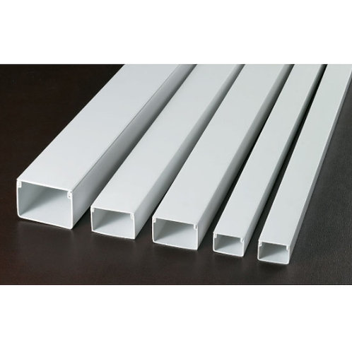 Cable Ducting 80mm x 40mm x 1m Square shaped (White)