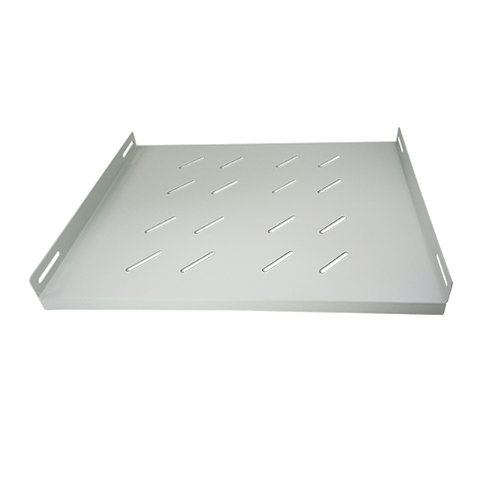 "1RU 19"" Fixed Shelf 280mm Deep Light Grey"