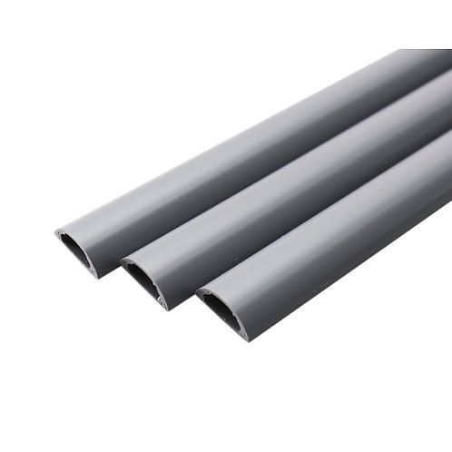 High-strength Cable Ducting 40mm x 17mm x 1m - Self Adhesive (Grey)