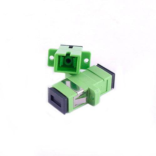 SC / APC Type Singlemode thru-connector SIMPLEX (Coupler)