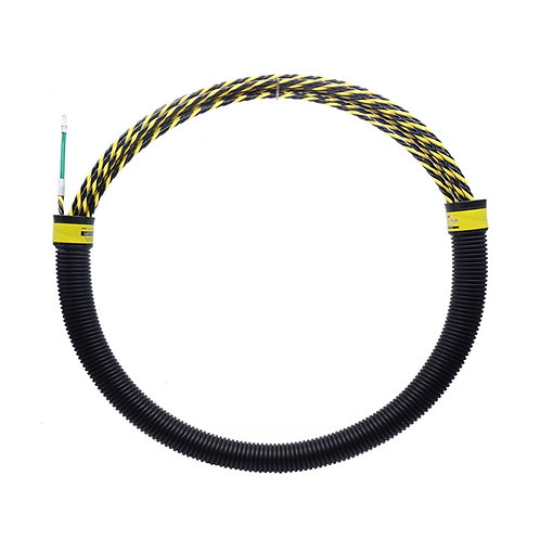 15M 5.5mm Cable Fish Tape Wire Puller with Carrying tube - Premium Tested 350kg
