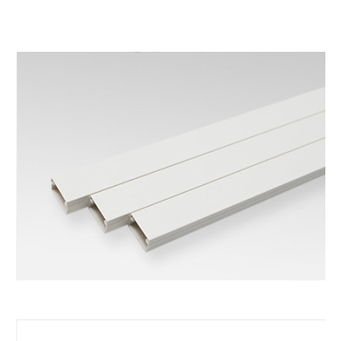 Cable Ducting 15mm x 11mm x 1m Square shaped -Self Adhesive (White)