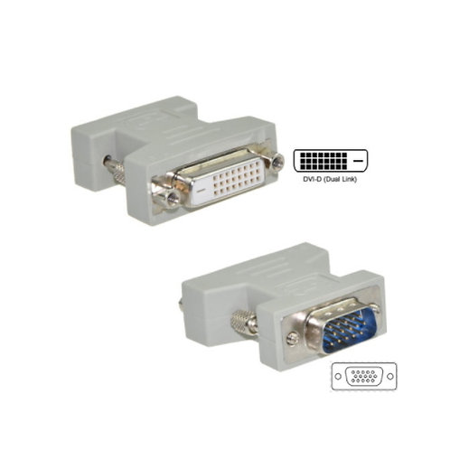 VGA Male to DVI-D (24+1) Female Adaptor