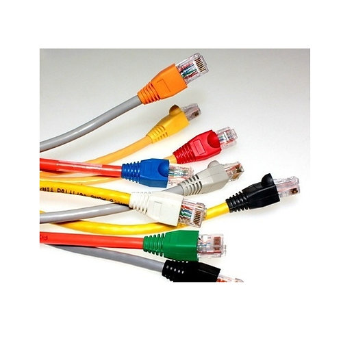 Custom Cat 5E Solid Ethernet Patch Leads