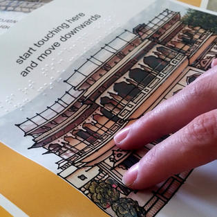 Tactile Braille Museum Guide Book