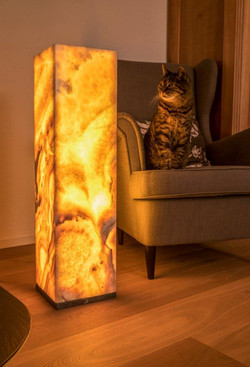 Onyx Lampe