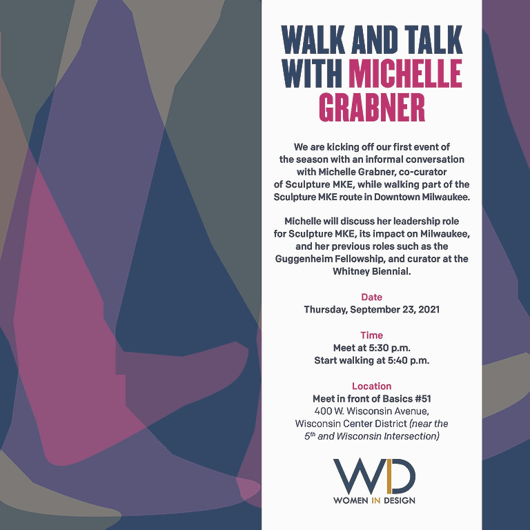 Walk and Talk with Michelle Grabner