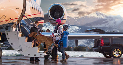 Private Jet Charter Family Salt Lake City Utah
