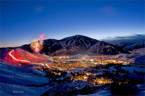 Private Jet Charter to Sun Valley