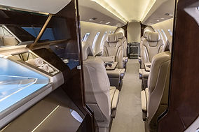 Private Jet Charter PC-24 Interior